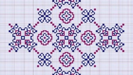 Large Cross - Cross Stitch Pattern