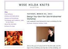 Wise Hilda Knits