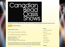 Canadian Bead Oasis Shows